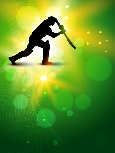 vektor cricket bakgrund