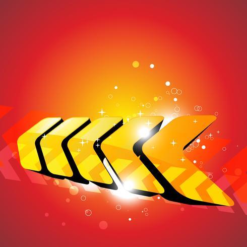 oranje kleuren vector kunst