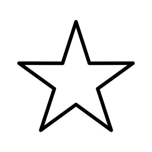 icono de linea de linea negra