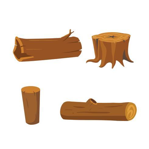 Stumpfvektor-Sammlungsdesign