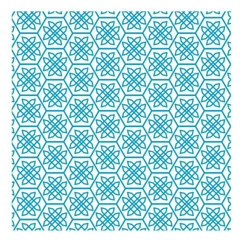 Diseño de patrón cian 20
