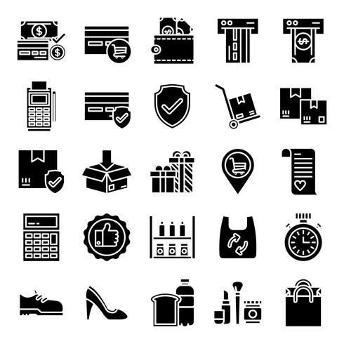 Retail icons pack