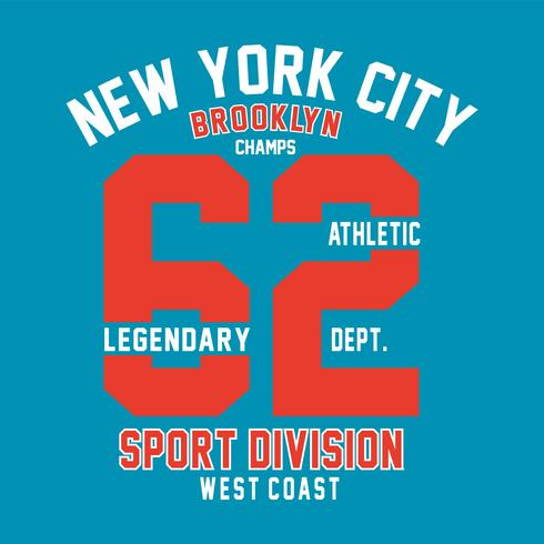 Brooklyn-champs-print-design-for-t-shirt