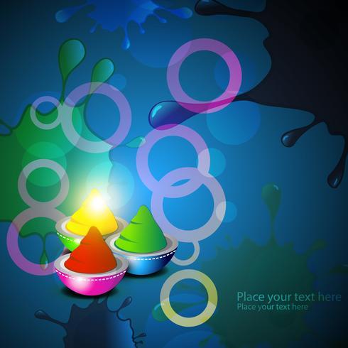 kleurrijke holi