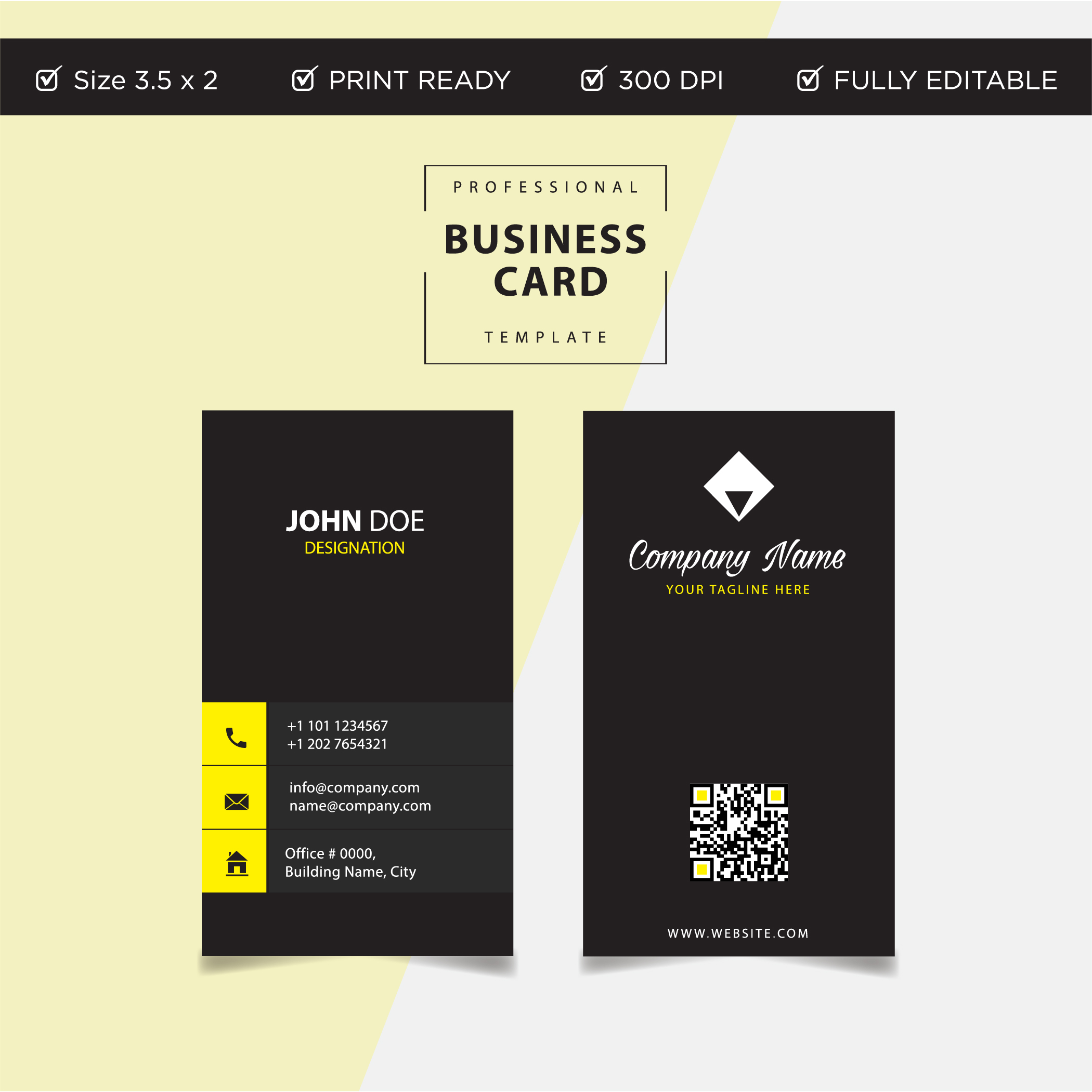 Modern colorful creative business card and name card ...