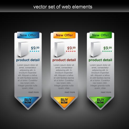 banner web venta ilustración
