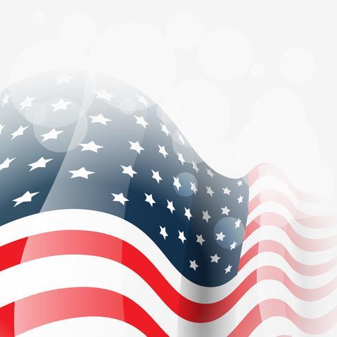 vector bandera americana