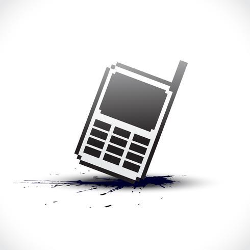 Vektor-Pixel-Telefon