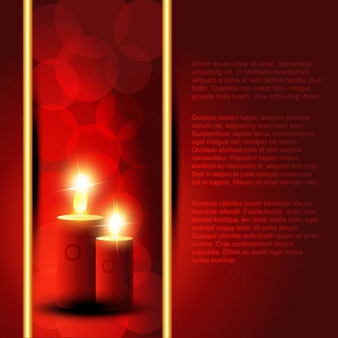 sfondo di candela