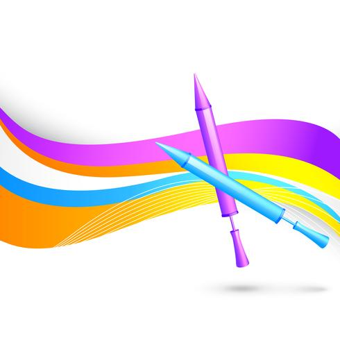 färgglad holi bakgrund vektor