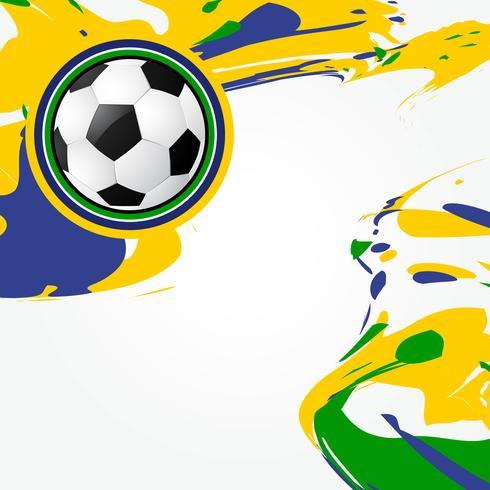 abstract ontwerp van voetbalspellen vector