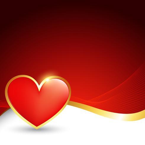 vetor de desenho de coração