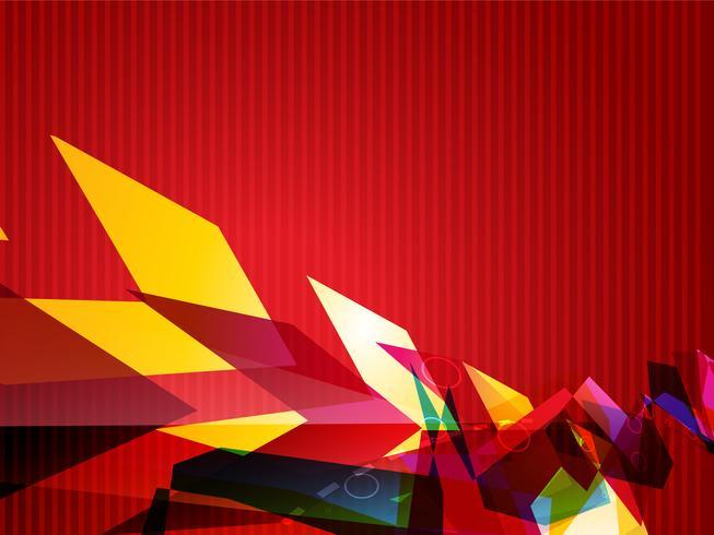 vetor colorido abstrato
