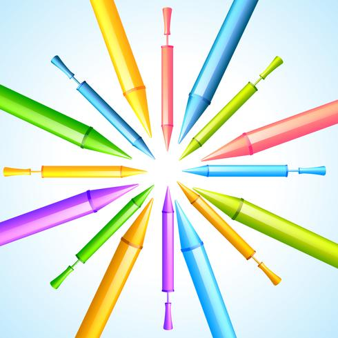 kleurrijke pichkari