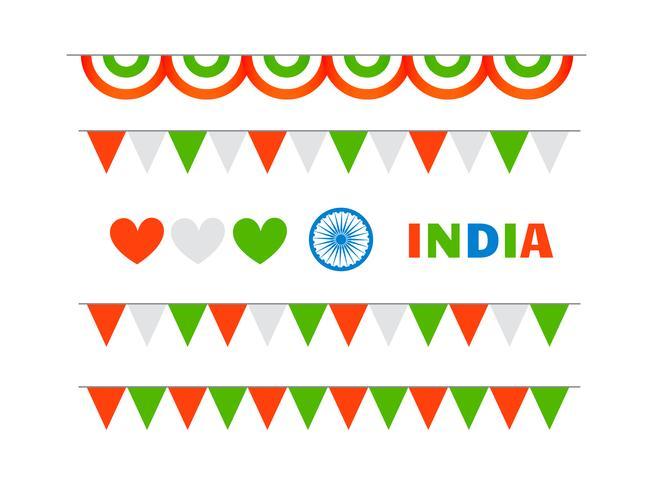 insieme di elementi della celebrazione repubblica e giorno dell'indipendenza