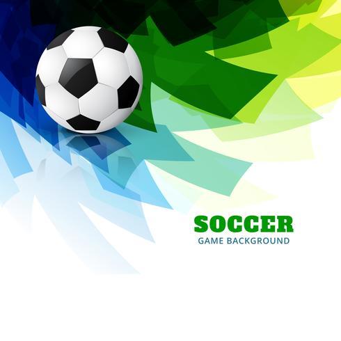 färgglada fotbolls vektor