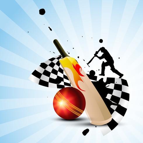 fundo de críquete