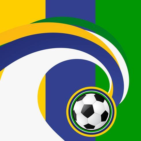 fond abstrait de football