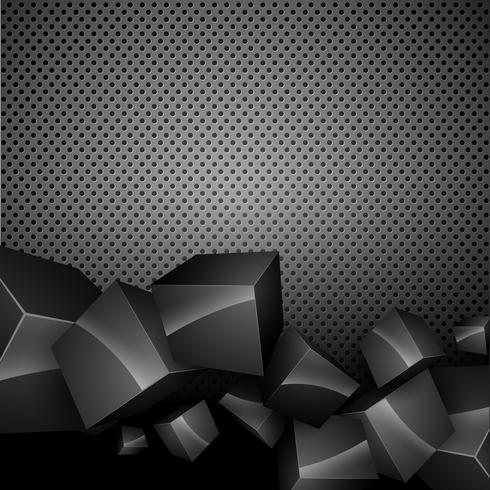 dunkler Vektor Hintergrund