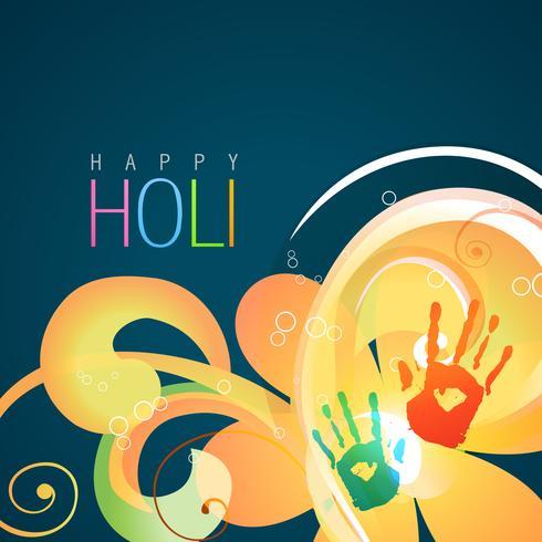 colorful hands splash