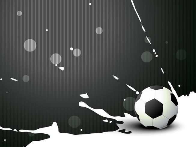 football de vecteur