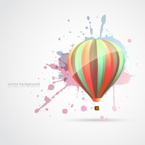 färgstarka fallskärm