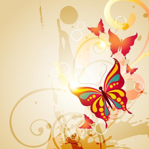 vector mariposa