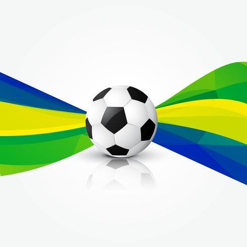 ilustración de diseño de fútbol