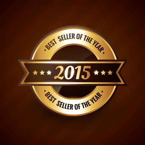 årets bästsäljare år 2015 gulddesign