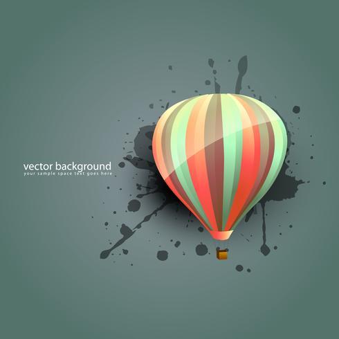 paracaídas vector
