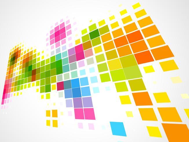 sfondo colorato mosaico d'onda