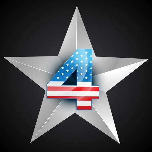 distintivo bandiera americana