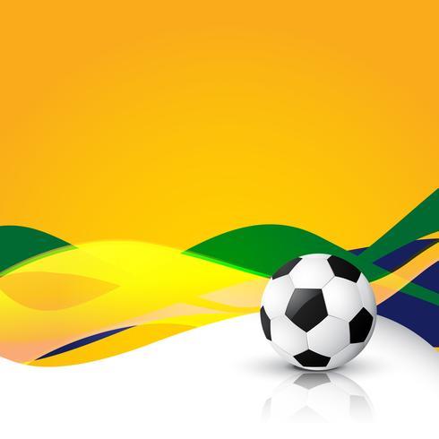 conception de vecteur de football