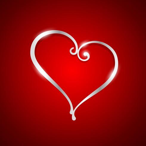 bella illustrazione del cuore