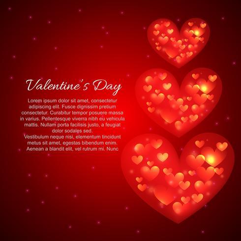 Valentinstag schönen Herzen Hintergrund