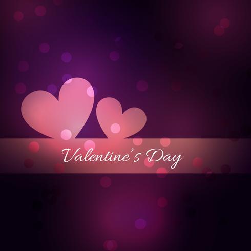 semplice e bella giornata di San Valentino sfondo