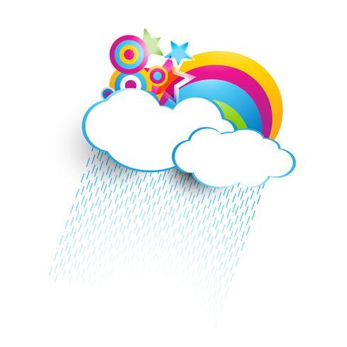 färgstarkt moln