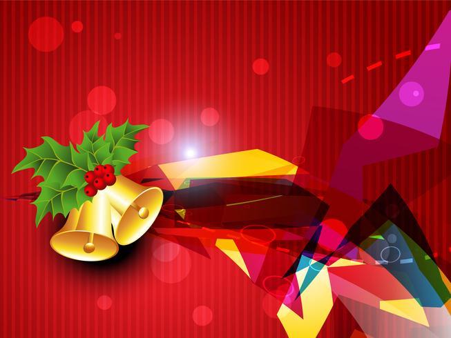 cloche de Noël de vecteur