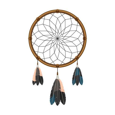 American Indian Dream Catcher-Symbol