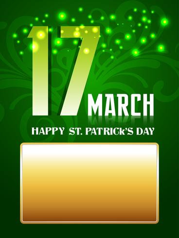 saint patrick's day vector