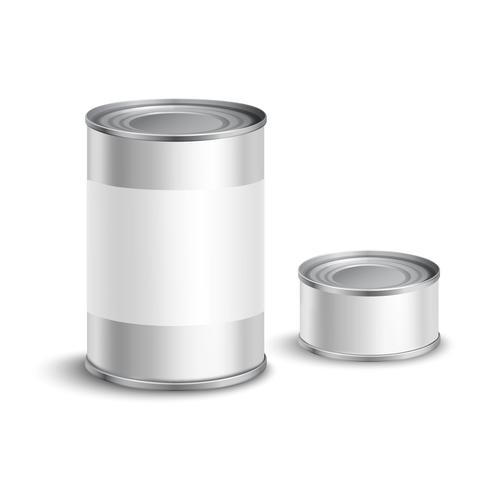 Conjunto de lata