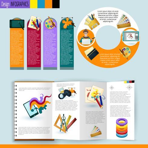 Ontwerp Infographics Set vector