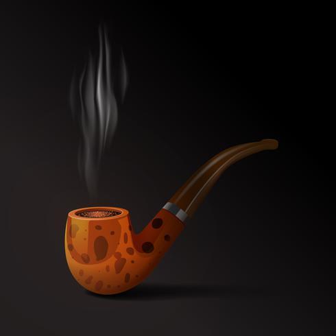 Ilustración de pipa de tabaco