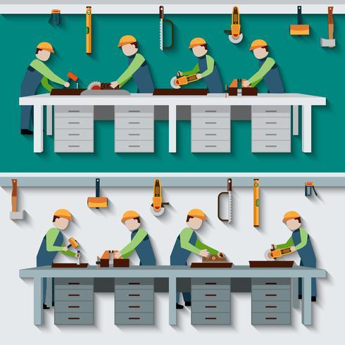 Snickare Workshop Illustration