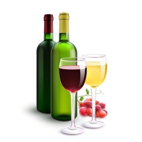 Rot- und Weißweine