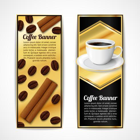 Koffiebanners verticaal