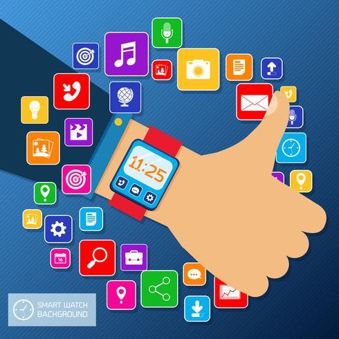 Smart Watch Hintergrund