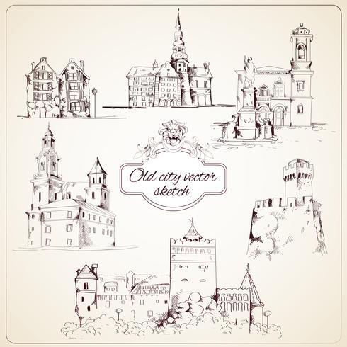 Old city sketch