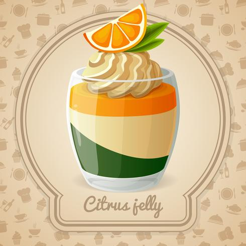 Citrus jelly card