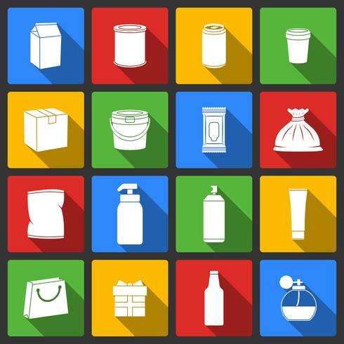 Pack Container Icons